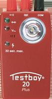 TESTBOY 20 Plus, Durchgangs-Prüfer, Prüf-Mess-Gerät, fremdspannungsgeschützt