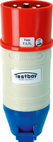 TESTBOY TV 416A, CEE-Adapter*