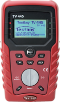 TESTBOY TV 445, Installations-Tester, Prüf-Mess-Gerät, DIN VDE 0100-600
