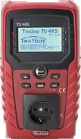TESTBOY TV 465, Geräte-Tester, Prüf-Mess-Gerät, DIN VDE 0701/0702