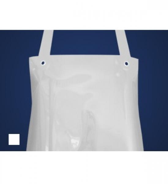 SCHLACHTHAUSFREUND-Ledolin M-Schürze, PU-Gummi-Schürze 1363, weiß