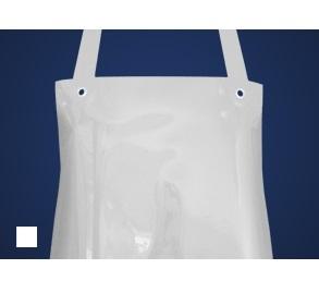 SCHLACHTHAUSFREUND-Ledolin M-Schürze, PU-Gummi-Schürze 1367, weiß
