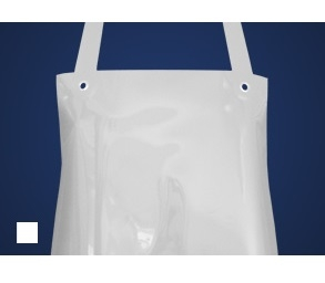 SCHLACHTHAUSFREUND-Ledolin M-Schürze, PU-Gummi-Schürze 1370, weiß