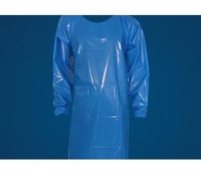 Gummischürze aus PVC 120 x 90 cm in blau grün oder weiss