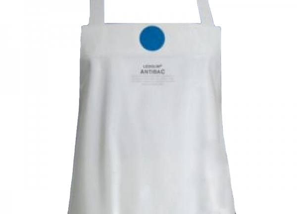SCHLACHTHAUSFREUND-Ledolin Antibac-Schürze, PU-Gummi-Schürze 1606, weiß