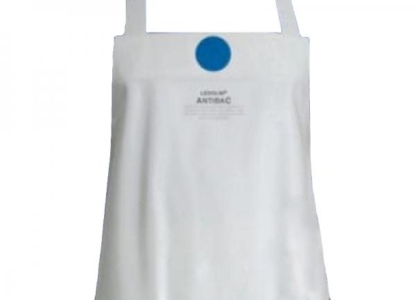 SCHLACHTHAUSFREUND-Ledolin Antibac-Schürze, PU-Gummi-Schürze 1610, weiß