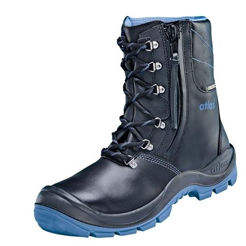 ATLAS-S3-CI-Winter-Sicherheits-Arbeits-Berufs-Schuhe, hoch, GTX 945 XP, Weite 14, Thermo, Gore-Tex, schwarz