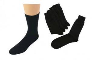 WOWERAT-Arbeits-Berufs-Socken, Pkg. á 5 Paar, schwarz