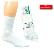 WOWERAT-Arzt- und Schwestern-Arbeits-Berufs-Socken, Pkg. á 5 Paar, weiß