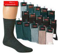 WOWERAT-Herren-Gesundheits-Arbeits-Berufs-Socken, Pkg. á 5 Paar, farblich sortiert