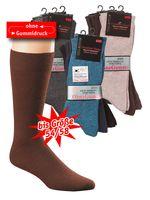 WOWERAT-Herren-Arbeits-Berufs-Gesundheits-Socken, Pkg. á 3 Paar, schwarz