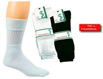 WOWERAT-Gesundheits-Sport-Arbeits-Berufs-Socken, Pkg. á 5 Paar, schwarz