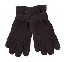 WOWERAT Fleece-Thermo-Winter-Arbeits-Handschuhe, für Damen und Herren, schwarz