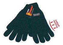 WOWERAT Herren-Thermo-Winter-Arbeits-Handschuhe, Thinsulate schwarz