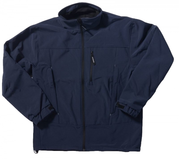 OCEAN-Softshell-Arbeits-Berufs-Jacke, Herrenjacke, marine