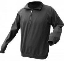 SSP-Fleece-Arbeits-Berufs-Jacke, Fleeceblouson, schwarz