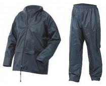 SSP-Regenjacke und Regenhose als Set, marine