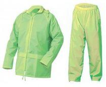 SSP-Regenjacke und Regenhose als Set, gelb