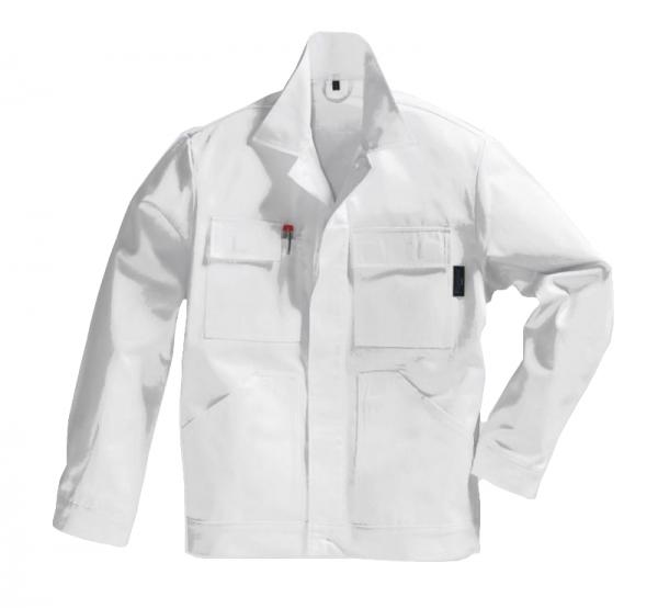 PIONIER Arbeits-Berufs-Bund-Jacke, Cotton Pure, BW280, weiß