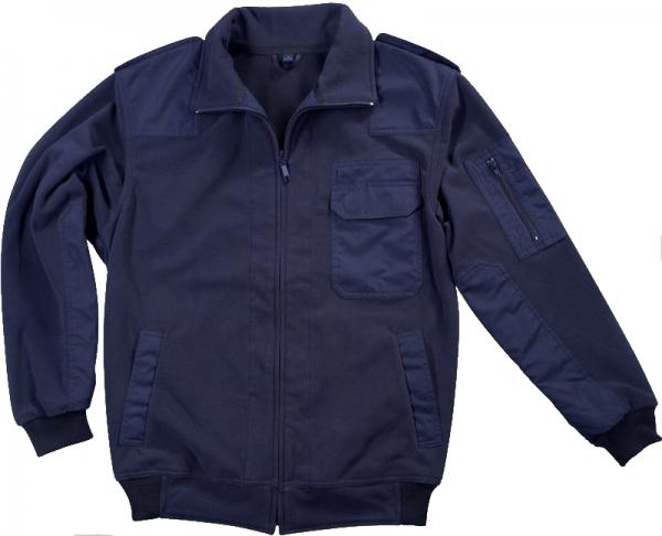 PIONIER-Windshell Fleece-Arbeits-Berufs-Jacke, OUTDOOR, marine