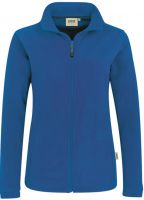 HAKRO-Women-Fleece-Arbeits-Berufs-Jacke, Delta, royal