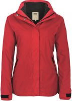 HAKRO-Women-Active, Winter-Wetter-Arbeits-Berufs-Jacke, Aspen, rot
