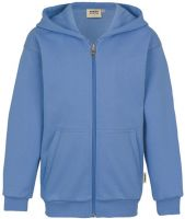 HAKRO-Kids-Kapuzen-Jacke Premium, malibu-blue
