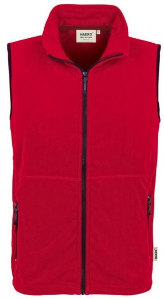 HAKRO-Winter-Arbeits-Berufs-Fleece-Weste, Toronto, rot