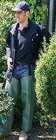 CHAPS & MORE Knieschutz, grün