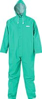 KIND-Decontex-Schutzkleidung, P100, Regen-Nässe-Schutz-Overall, grün