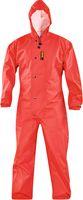 KIND-Decontex-Schutzkleidung, Regen-Nässe-Schutz-Overall, rot
