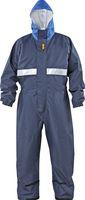 KIND-Decontex-Schutzkleidung, Regen-Nässe-Schutz-Overall, POWER CLEAN, blau