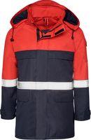 KIND-Multifunktions-Schutz, Regen-Nässe-Wetter-Jacke, SUPRA, rot/navy