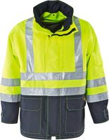 KIND-Warn-Schutz, Arbeits-Berufs-Jacke, MAGIC, warngelb/navy
