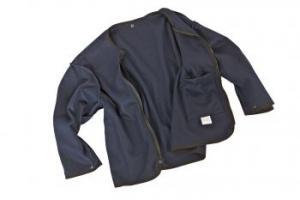 KIND-Wetterschutz, Arbeits-Berufs-Jacke, Wärmfutter Fleece, DOULINE, navy