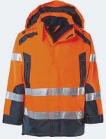 KIND-Warn-Schutz, Arbeits-Berufs-Jacke, REGENT, warnorange/navy