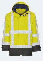 KIND-Warn-Schutz, Arbeits-Berufs-Jacke, SCOPE, warngelb/schwarz