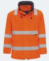 KIND-Warn-Schutz, Arbeits-Berufs-Jacke, SCOPE, o. Wärmfutter, warnorange