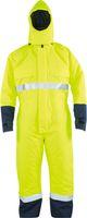 KIND-Wetterschutz, Kälte-Regen-Schutz-Arbeits-Berufs-Overall, MULTISTAR, warngelb/navy