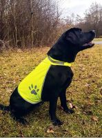 KORNTEX- Hunde-Warn-Schutz-Weste, gelb