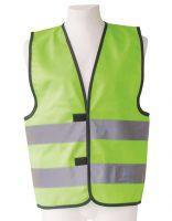 KORNTEX-Kinder-Warnschutz-Funktionsweste, lime green