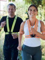KORNTEX-Reflective Body Belt, Warn-Schutz-Körperband, gelb