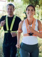KORNTEX-Reflective Body Belt, Warn-Schutz-Körperband, orange