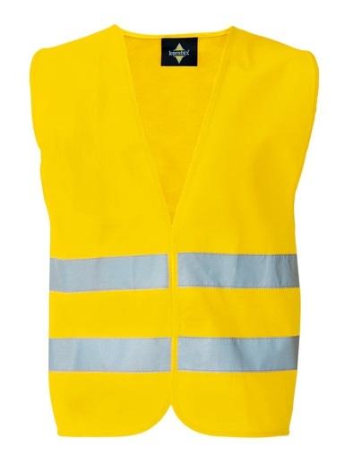 KORNTEX-Warn-Schutz-Weste, Duo Pack, gelb