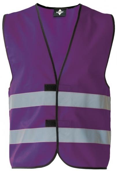 KORNTEX-Warn-Schutz--Funktions-Weste, violett