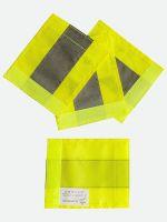 KORNTEX-Warn-Schutz-Rollflektor 4er Set, gelb