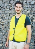 KORNTEX-Warn-Schutz-Kennzeichnungs-Weste, gelb