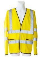 KORNTEX-Leichte Warn-Schutz-Jacke ohne Futter, gelb
