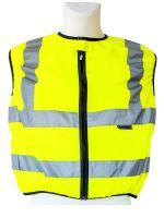 KORNTEX-Warn-Schutz-Weste für Motorradfahrer, gelb