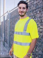 KORNTEX-Hi-Viz Warn-Schutz-T-Shirt, gelb
